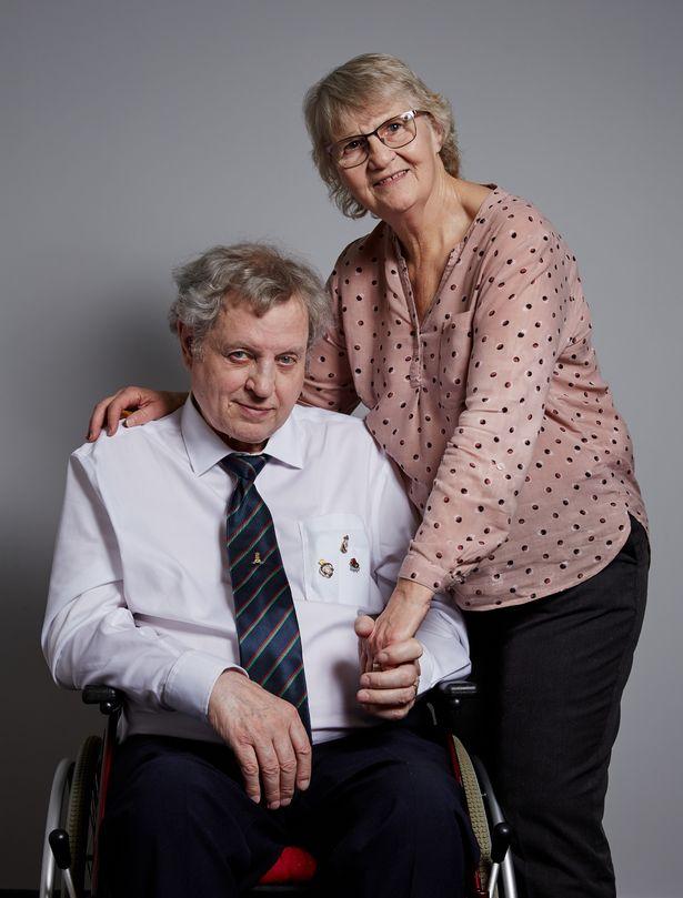 Elaine Yates and husband Michael