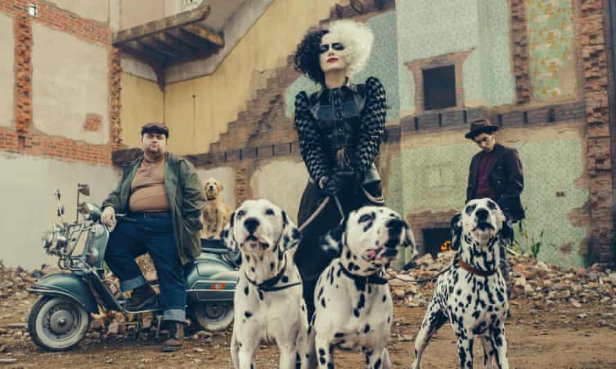 Emma Stone as Cruella in Disney's forthcoming Cruella.