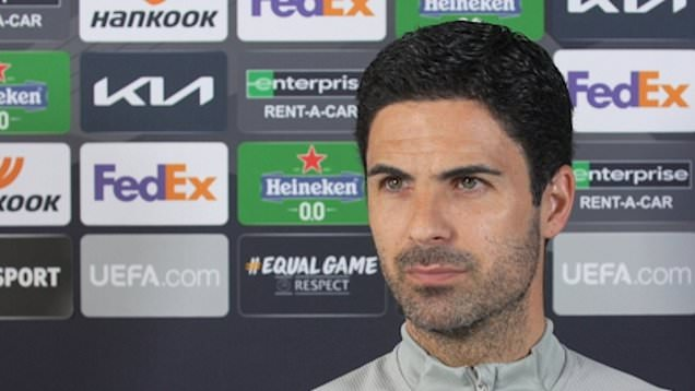 Arteta previews Arsenal's second leg clash with Villarreal in Europa League