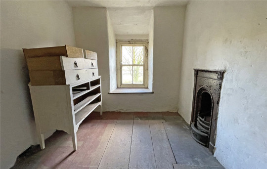 living space inside snowdonia farmhouse