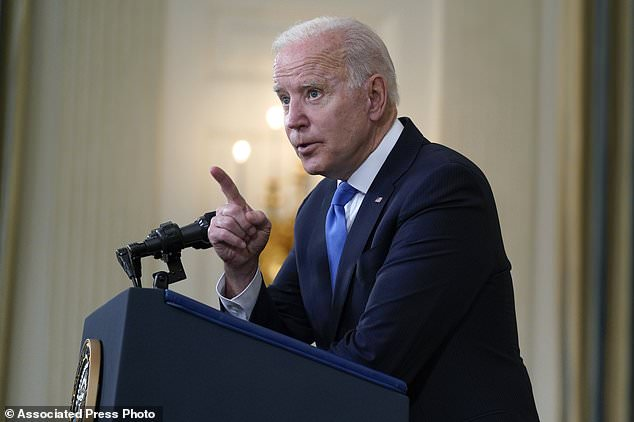 The Biden administration said Wednesday it supports waiving intellectual property rights for COVID-19 vaccines so that other countries can make their own versions of the shots
