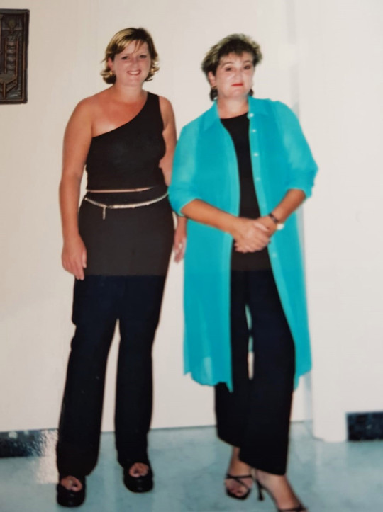 Pauline O'Connor (right) with her daughter Julie. PA Real Life/Collect