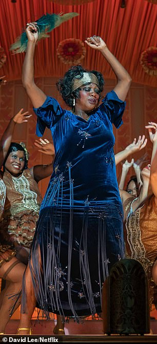Viola Davis admitted to wearing padding beneath her dresses in order to better resemble the 'Mother of the Blues'
