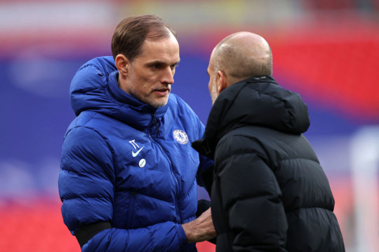 Tuchel faces Guardiola this weekend in a Champions League final rehearsal