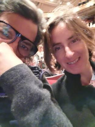 Nick Kamen and Lucinda Kary