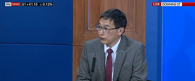 Professor Lim Wei Shen, head of the JCVI, said the decision was only able to be made because the UK's Covid situation is stable