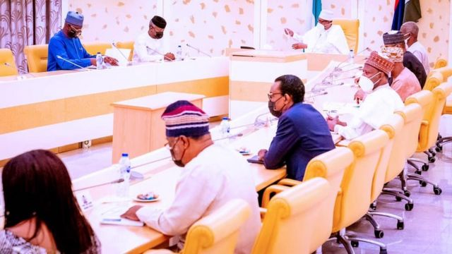 members of di Presidential Economic Advisory Council dey seat