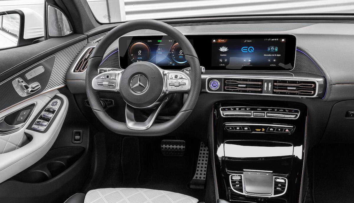 Mercedes-Benz EQC 2021: interior