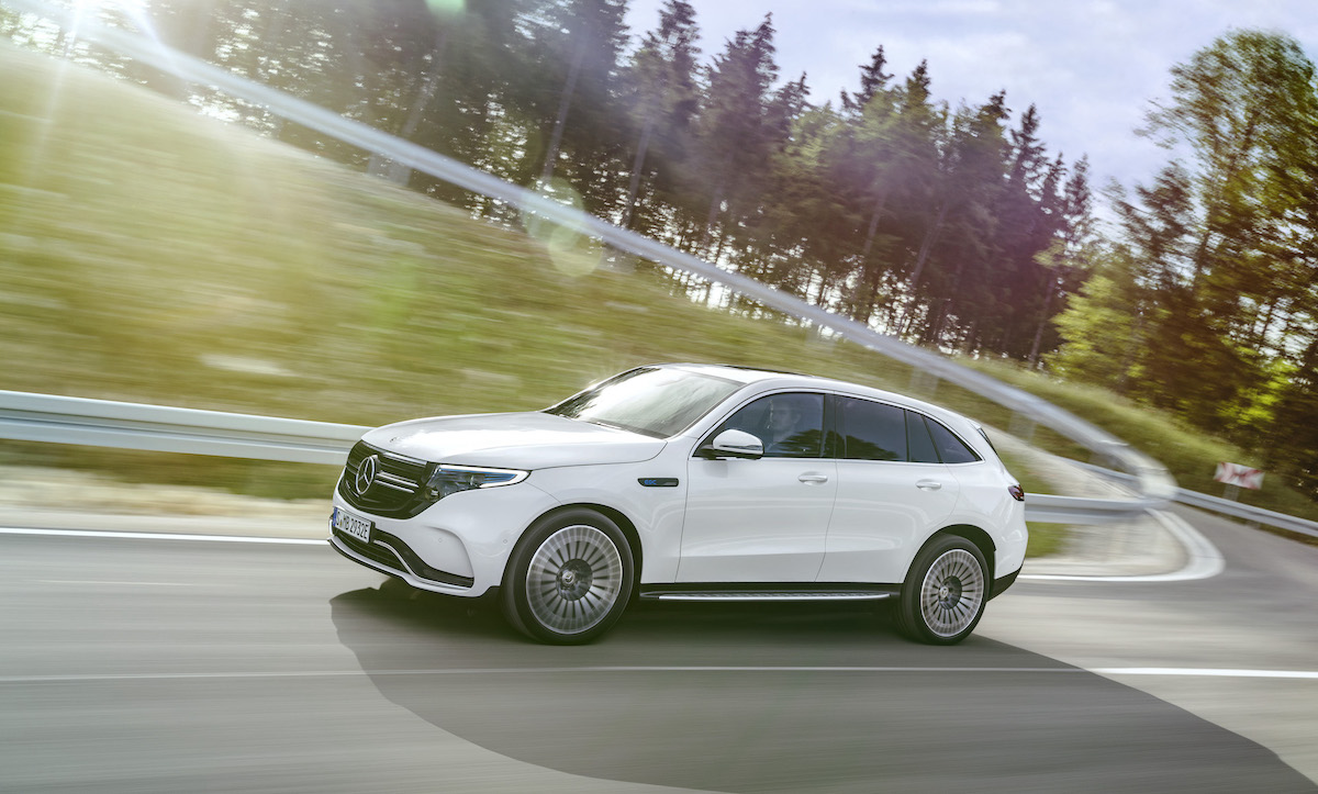 Mercedes-Benz EQC 2021: outlook