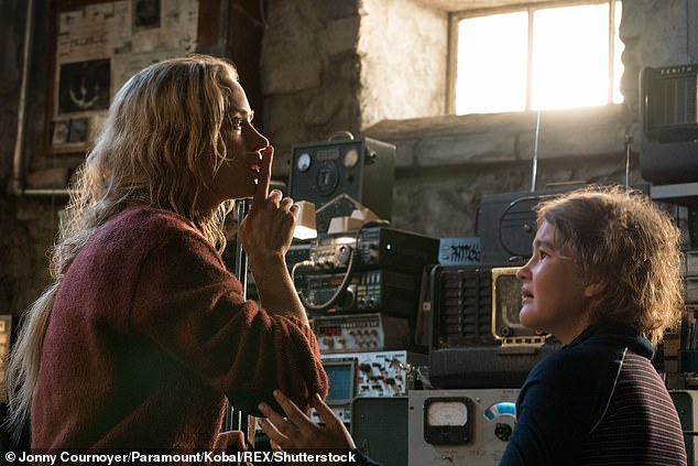 It's a hit! The original film was Paramount's second highest-grossing film of 2018, thanks to being a hit with fans and only costing a modest $20 million; still from A Quiet Place