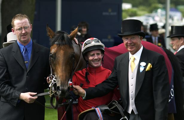 Sir Alex Ferguson became embroiled in a bitter dispute over the Rock of Gibraltar race horse