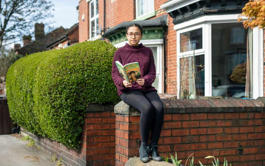 Maya Williams-Ham, who took a year off because both she and her mother are clinically extremely vulnerable, and has been tutoring others online.