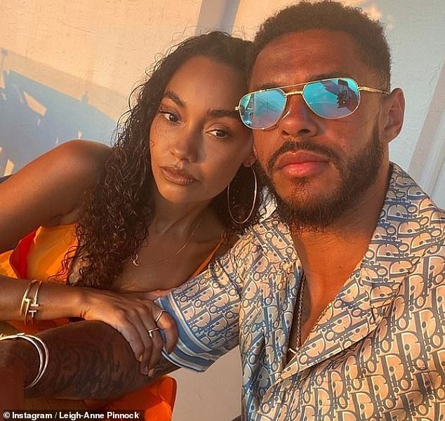 Surprise!Andre, who plays for Watford FC, proposed to Leigh-Anne in May at their home during lockdown