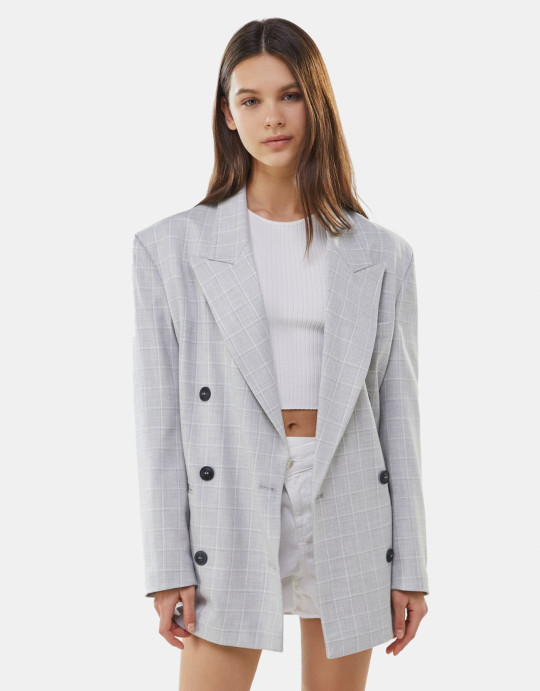 bershka tailored blazer