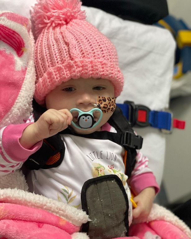Azayliah lost her incredibly fight to the terminal illness on 24 April