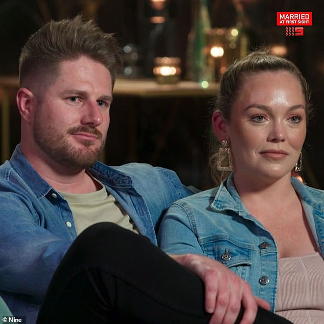 Controversy: Bryce was widely criticised by MAFS viewers for appearing to gaslight and manipulate his 'wife' on the show, but the pair insist they have a healthy relationship
