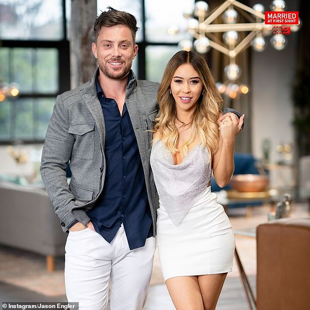 Fire and ice: Jason and Alana Lister [pictured]were Married At First Sight's famously hot-and-cold couple last season