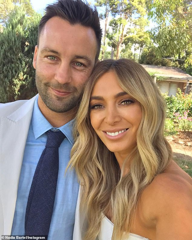 Ex factor:The post comes after Nadia spoke about how she moved on following her high profile split from husband Jimmy Bartel in 2019