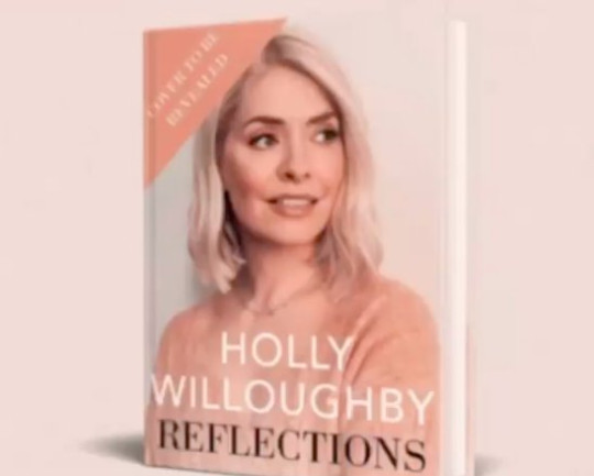 Holly Willoughby Reflections book cover