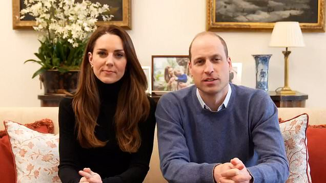William and Kate urge people to keep talking about mental health