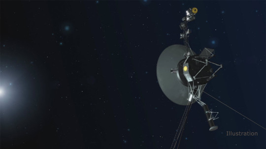 An artist's impression of the Voyager 1 probe (Image: Nasa)