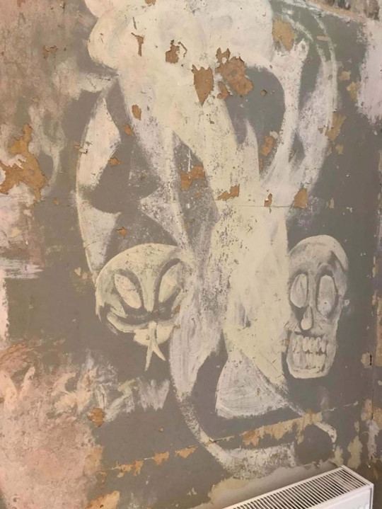Virginia's skeletal wall paintings uncovered 30 years later (Collect/PA Real Life)