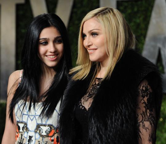 Madonna with Lourdes Leon.