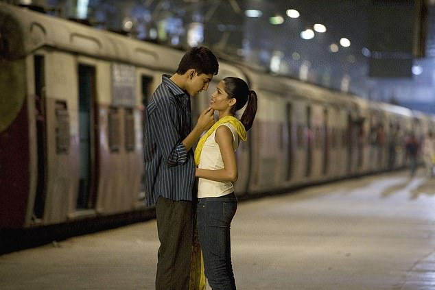 Slumdog Millionaire (2008), starring Dev Patel and Freida Pinto (both pictured) was among the list of meaningful movies