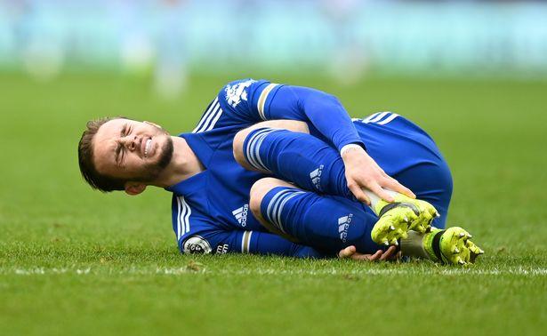 Injuries have hampered James Maddison's season