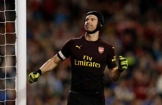 Petr Cech joined Arsenal from Chelsea in 2015