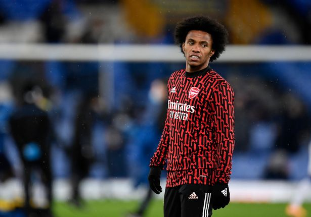 Willian is said to be leaving Arsenal at the end of the season