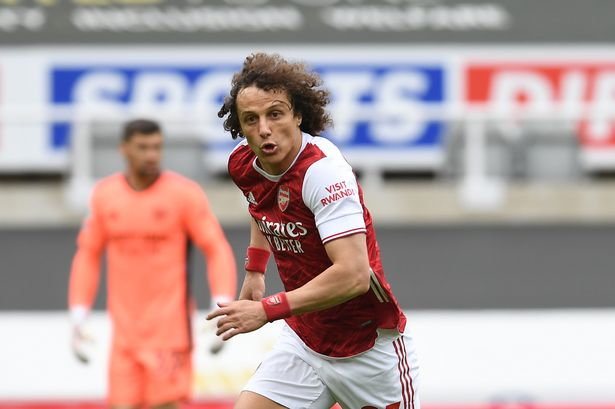 David Luiz joined Arsenal from Chelsea in 2019