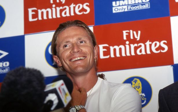 Emmanuel Petit joined Chelsea following a stint at Barcelona