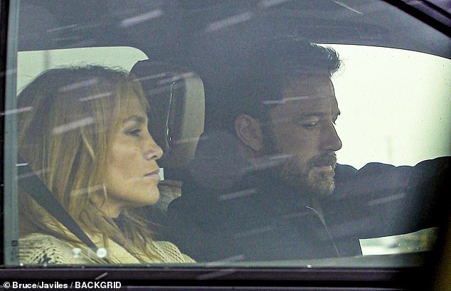 Bennifer back on: Affleck, 48, and Lopez, 51, are pictured above in Montana together over the weekend