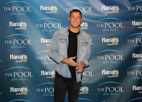 Colton Underwood Hosts The Pool After Dark
