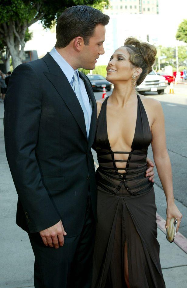 J-Lo and Ben split in 2004