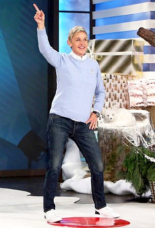 Downplaying the scandal: DeGeneres told The Hollywood Reporter last year's toxic-workplace scandal was not a factor in her decision to wrap up the program
