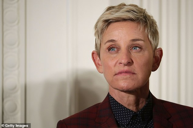 Allegations: Ellen has been at the centre of controversy over the past year, after being accused of permitting a toxic workplace environment to flourish behind the scenes of her show