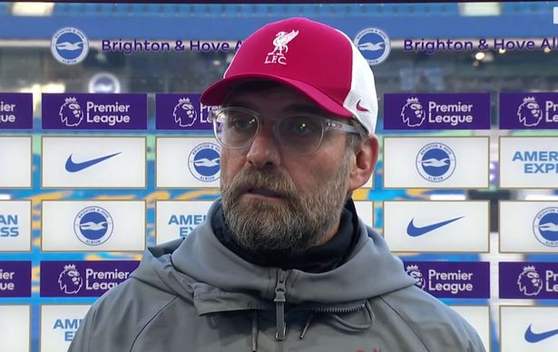 Klopp and BT Sport's Des Kelly were involved in a fiery interview in November