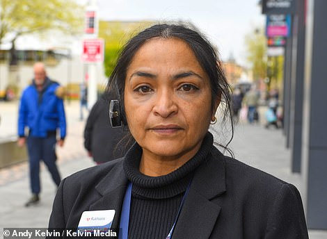 Rukhsana Shaikh, 49, whose family originate from India revealed that her father died from Covid last year. She said: 'I'm worried sick about this news of the Indian variant being in Bolton'