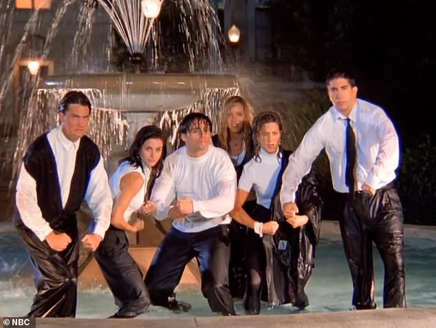 10 years:The series - about six pals that live in the same apartment complex in New York - aired from 1994 until 2004