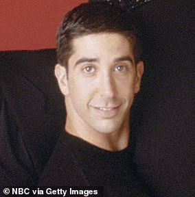 Schwimmer: He starred as nerdy Ross who was into dinosaurs