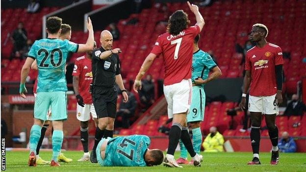 Liverpool awarded a penalty at Old Trafford