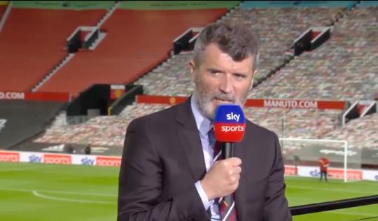 Roy Keane slammed Sadio Mane for ignoring Jurgen Klopp after Liverpool's win over Manchester United.