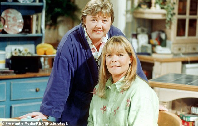 Linda Robson (pictured with Ms Quirke) and Lesley Joseph, who play Tracey Stubbs and Dorien Green, had hoped last year's Christmas special would convince TV chiefs to do a new series