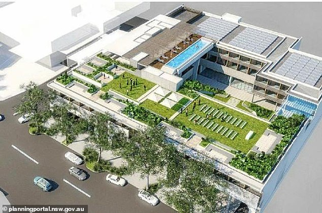 'Mega venue':The site, located on Byron's Johnson St spans 4,128sqm and supports a flexible B2 Local Centre zoning, which allows for a wide range of mixed-use development this includes retail, residential and hotels