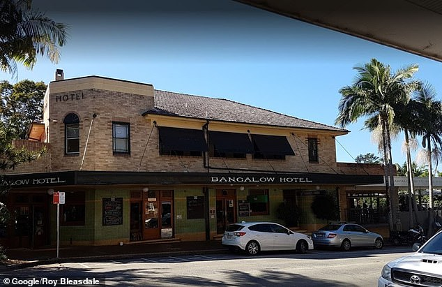 At war: The rival pub barons were reportedly locked in a bidding war for the 60-year-old pub (pictured) which is currently owned by NRL star Tom Mooney and wife Cathryn, with bids reaching up to $50 million