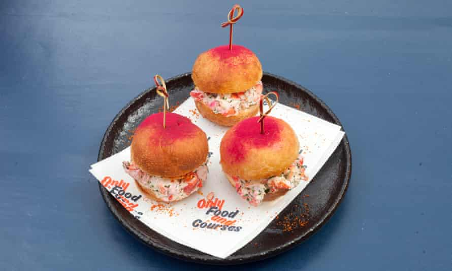 'Do I need to tell you they are delicious?' Lobster doughnuts.