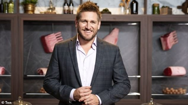 Fame:Curtis has become a household name in both Australia and the United States, cashing in as a best-selling cookbook author and television personality
