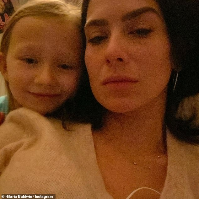 Painful:In 2019 the yoga instructor suffered back-to-back miscarriages, and in a recent Instagram post Hilaria admitted she thinks 'of the babies I lost daily'
